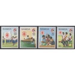 Samoa - 1989 - No 694/697 - Santé ou Croix-Rouge