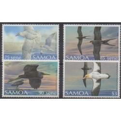 Samoa - 1989 - No 686/689 - Oiseaux