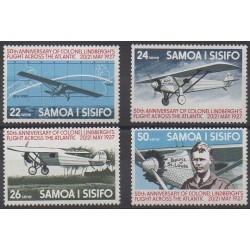 Samoa - 1977 - Nb 388/391 - Planes