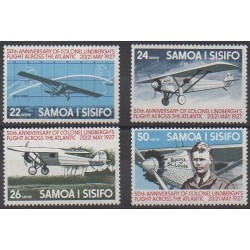 Samoa - 1977 - No 388/391 - Aviation