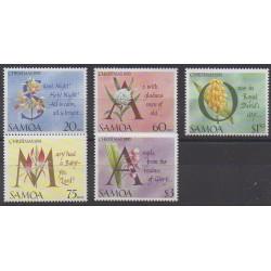 Samoa - 1993 - Nb 771/775 - Christmas