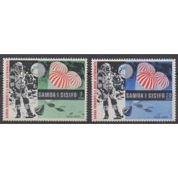 Samoa - 1969 - No 249/250 - Espace