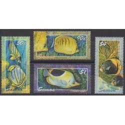 Samoa - 2004 - No 980/983 - Animaux marins