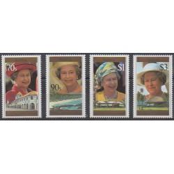 Samoa - 1996 - No 834/837 - Royauté - Principauté