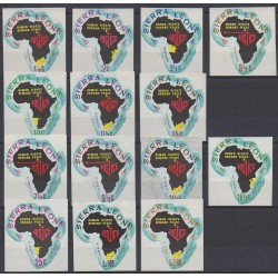 Sierra Leone - 1968 - No 328/334 - PA61/PA67 - Droits de l'Homme