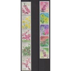 Japan - 2009 - Nb 4932/4941 - Flowers