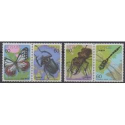 Japon - 1987 - No 1610/1613 - Insectes