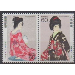 Japon - 1988 - No 1678/1679 - Costumes