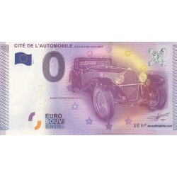 Euro banknote memory - 68 - Cité de l'automobile - Collection Schlumpf - 2015-1