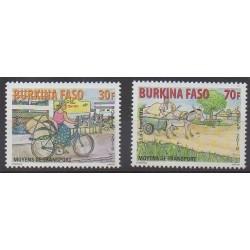 Burkina Faso - 2010 - No 1370/1371 - Transports