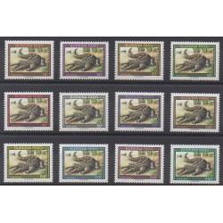 Burkina Faso - 1995 - No 905/916 - Reptiles