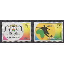 Burkina Faso - 1996 - Nb 969/970 - Various sports