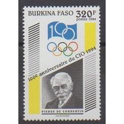 Burkina Faso - 1994 - No 901 - Jeux Olympiques d'été - Jeux olympiques d'hiver