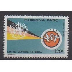 Burkina Faso - 1989 - No 800 - Santé ou Croix-Rouge