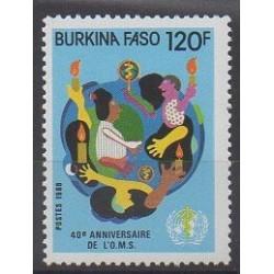 Burkina Faso - 1988 - No 769 - Santé ou Croix-Rouge