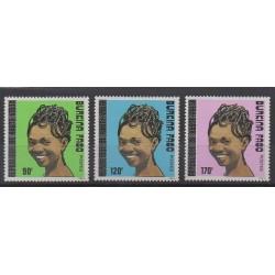 Burkina Faso - 1989 - Nb 812/814