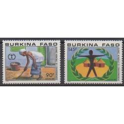 Burkina Faso - 1987 - Nb 741/742 - Environment