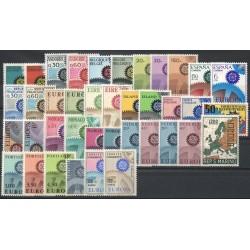 Europa - 1967 - 39 valeurs - 19 pays