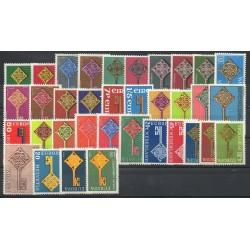 Europa - 1968 - 35 valeurs - 18 pays