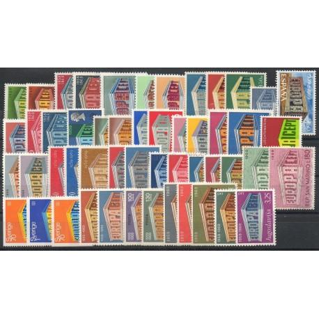 Europa - 1969 - 51 valeurs - 26 pays