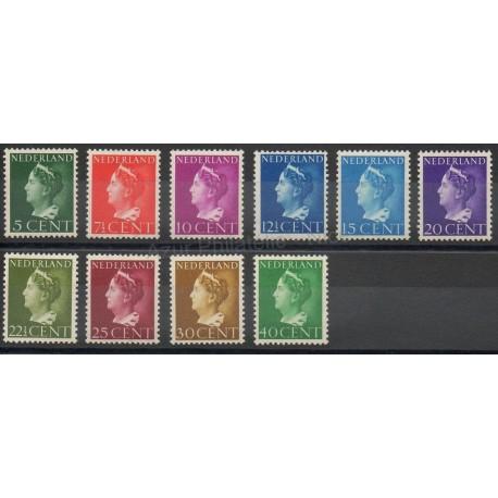 Netherlands - 1940 - Nb 332/341