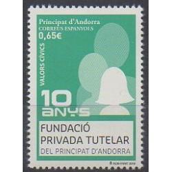 Andorre espagnol - 2018 - No 461