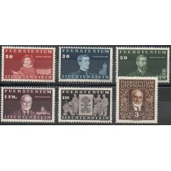 Liechtenstein - 1940 - Nb 161/166 - Royalty