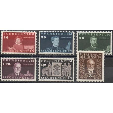 Liechtenstein - 1940 - Nb 161/166 - Royalty