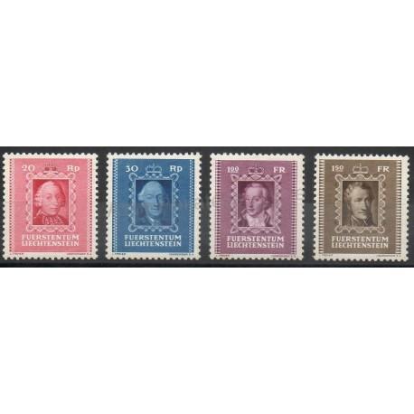 Liechtenstein - 1942 - Nb 182/185