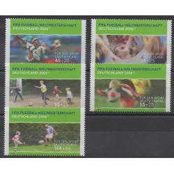 Allemagne - 2003 - No 2152/2156 - Coupe du monde de football