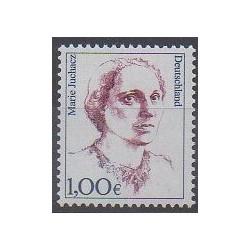 Allemagne - 2003 - No 2133 - Célébrités