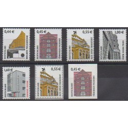 Allemagne - 2002 - No 2126/2132 - Monuments