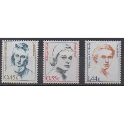 Allemagne - 2002 - No 2123/2125 - Célébrités