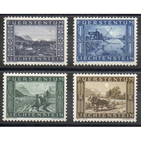 Liechtenstein - 1943 - No 193/196