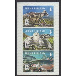 Finland - 2018 - Nb 2527/2529 - Animals - Endangered species - WWF