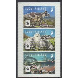 Finlande - 2018 - No 2527/2529 - Animaux - Espèces menacées - WWF