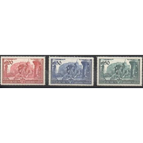 Liechtenstein - 1939 - No 155/157