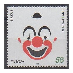 Allemagne - 2002 - No 2080 - Cirque - Europa