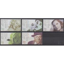 Allemagne - 2001 - No 2050/2054 - Cinéma