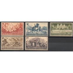 Liechtenstein - 1942 - Nb 177/181 - History