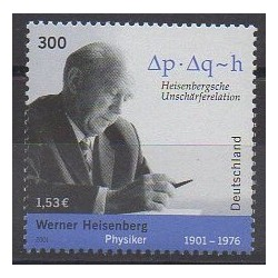 Allemagne - 2001 - No 2055 - Sciences et Techniques