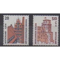 Allemagne - 2001 - No 2056/2057 - Châteaux