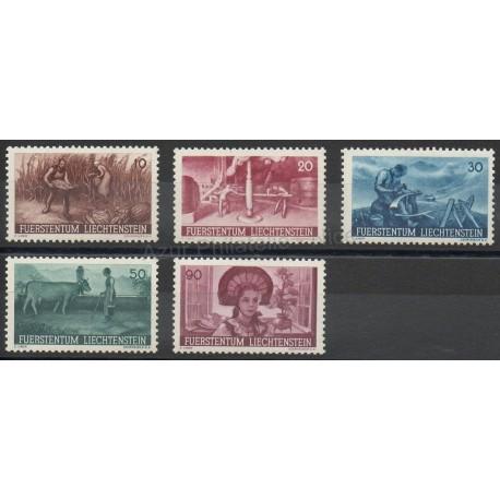 Liechtenstein - 1941 - No 167/171