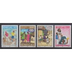 Sénégal - 2006 - No 1757/1760 - Santé ou Croix-Rouge