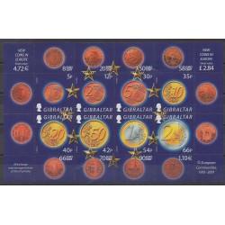 Gibraltar - 2002 - No 990/997 - Monnaies, billets ou médailles