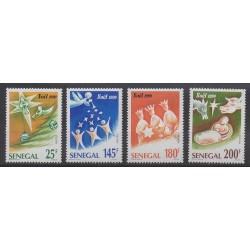Sénégal - 1990 - No 885/888 - Noël