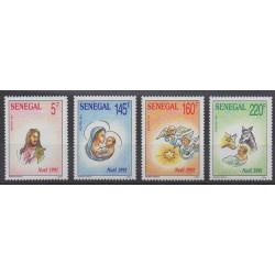 Senegal - 1991 - Nb 935/938 - Christmas