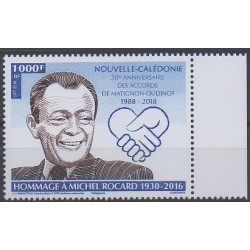 New Caledonia - 2018 - Nb 1344 - Celebrities
