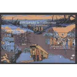 France - Blocks and sheets - 2018 - Nb F5284 - First World War