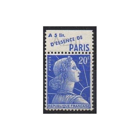 France - Variétés - 1955 - No 1011Bd